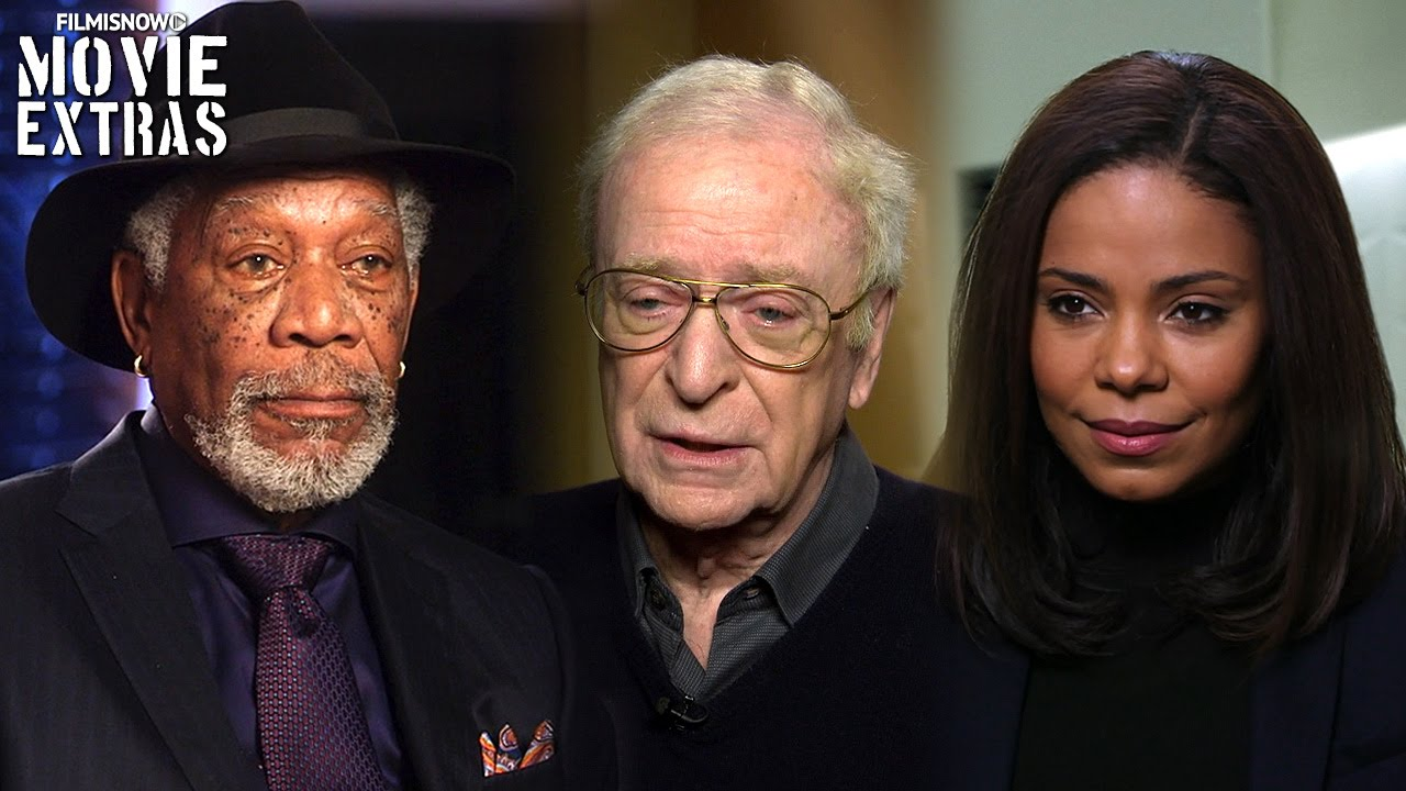Now You See Me 2 | On-set with Morgan Freeman, Michael Caine & Sanaa Lathan [Interview]