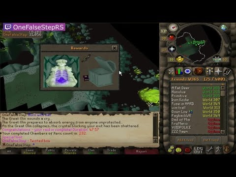 HCIM GETS TWISTED BOW!! BEST RUNESCAPE TWITCH MOMENTS COMPILATION #160