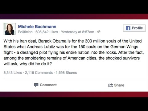 Bachman Anti-Obama Tweet Shows GOP Is Insane