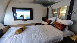 Complete Etihad First Class Apartment Experience onboard A380 from London to Abu Dhabi