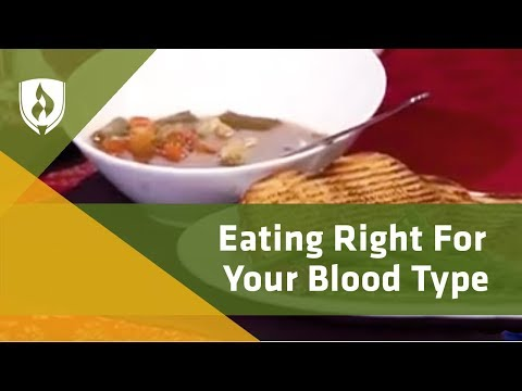 Eating Right for Your Blood Type
