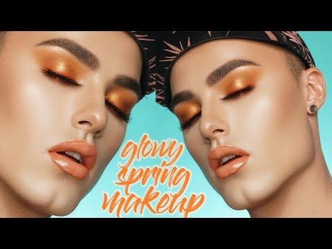 Easy Glowy Spring Makeup Tutorial!