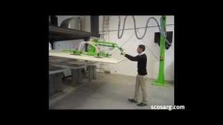 Vacuum Panel Lifter | Scott+Sargeant Woodworking Machinery