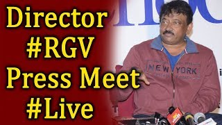 Director Ram Gopal Varma Press Meet Live | Lakshmi's Ntr Movie  Live