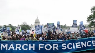 Hundreds of Thousands Take to the Streets Worldwide for the Global March for Science