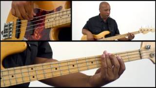 50 R&B Bass Grooves - #6 - Bass Guitar Lesson - Andrew Ford