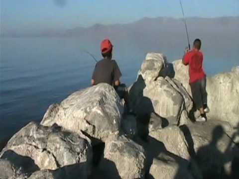 Micah house salton sea fishing trip 2010 youtube for Salton sea fishing report