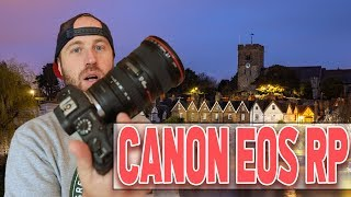 Canon EOS RP MUCH Better Than I Expected: Test and Review