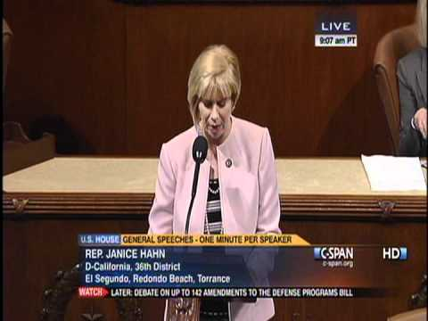 Congresswoman Hahn Announces Her No Vote on Defense Bill that Continues War in Afghanistan