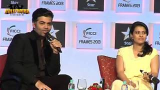 The Dirty Picture - Kajol In Conversation With Karan Johar On Day 3 Of 'FICCI Frames 2013'