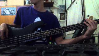 This Means War (A7X) - bass cover by Nut