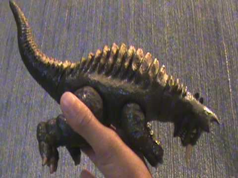 Showa Baragon And Godzilla Jr. Birthday Toy  Review!!!! Part 1