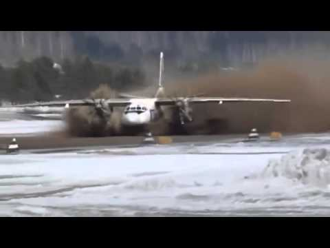 Muddy Takeoff From Russia
