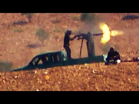 ISIS fighters shell Syrian city