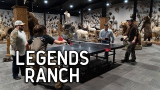 Extreme Taxidermy and Giant Whitetail Bucks at Legends Ranch | VLOG