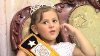 01 FEBRERO PRE MINI REINA DEL CANTON HUAQUILLAS VISITO TV ORO