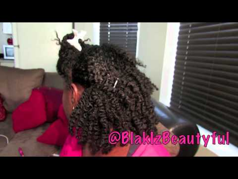 166| 40s Style for Work Natural Hair Tutorial