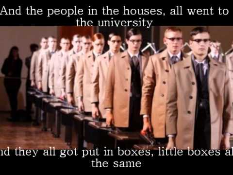 Little Boxes by Pete Seeger