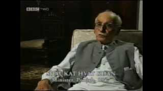 partition of East/ West Pakistan