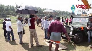 Pawan Kalyan Latest Movie Atharintiki Daaredi Action Making - Volga Videos - 2017