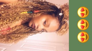 HOW TO: OMBRE MESSY GYPSY GODDESS LOCS!! | @MEEKFRO