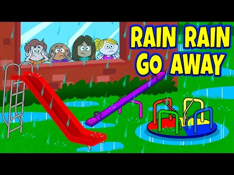 Rain Rain Go Away Nursery Rhyme With Lyrics - Nursery Rhymes - Kids Songs By The Learning Station video