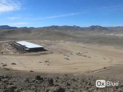 Time Lapse of the Tesla Gigafactory construction - March 2016 - Electrek