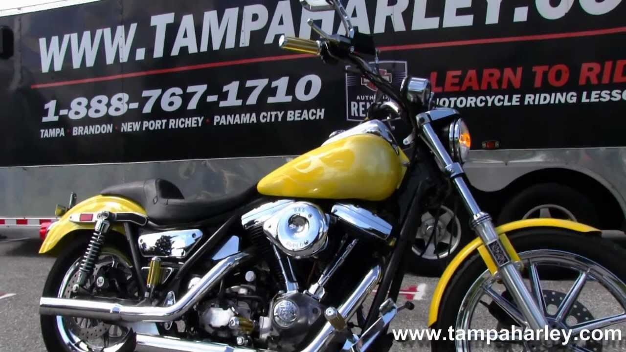 Harley Dyna For Sale >> Used 1985 Harley-Davidson Dyna Low Glide FXRS - YouTube