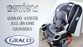 GRACO 4Ever Convertible Carseat [Product Review] Infant, Convertible, Booster, and Backless Booster
