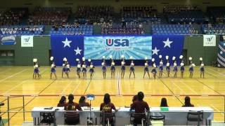 横浜立野高校チア部 MAD.DIVAS in USA School & College 2015