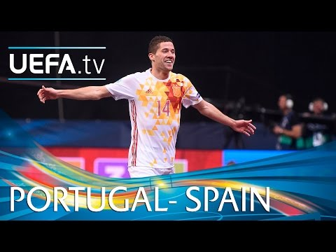 Futsal EURO Highlights: Spain beat Portugal 6-2