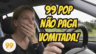 99 Pop NÃO PAGA Vomitada 😭 Saiba o por quê! Uber