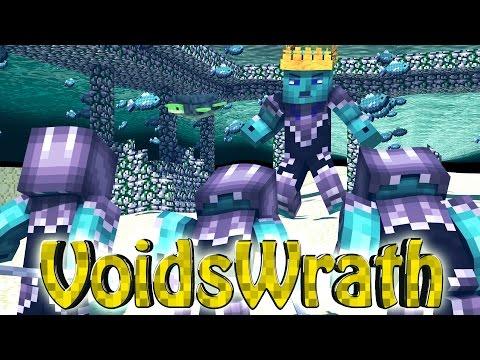 Minecraft Voids Wrath Modded Survival Ep 21 EPIC SEA MONSTER BOSS