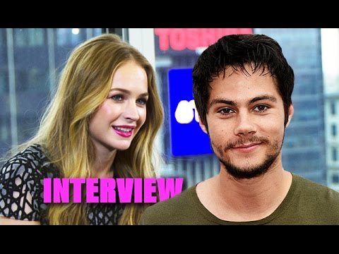 Britt Robertson On BF Dylan O'Brien Kissing Her Best Friend