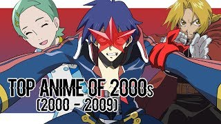 Top Anime of 2000s (2000 - 2009)
