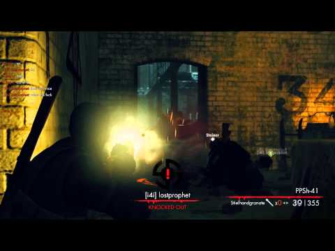 Sniper Elite V2 Nazi Zombie Army Co-op Part 3