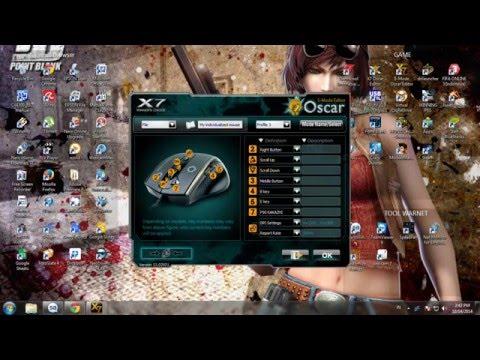 Cara Setting Mouse Macro X7 / Setting Mouse Macro X7