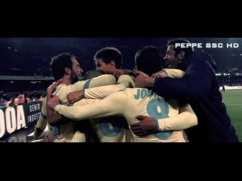 Coppa Italia SSC Napoli- AS Roma 3-0 HD  Notte da 10   Alziamola di Nuovo