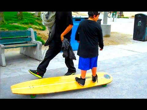 MONSTER BOARD SHREDDING!