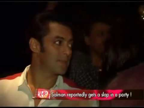 Salman Khan slapped by Delhi girl Video