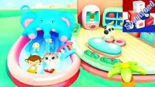 DR. PANDA ZWEMBAD Swimming Pool app voor kinderen - GROOT WATERPARK! Spellen voor Android & iOS