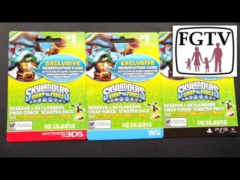 Skylanders Swap Force Retail Update. Collecting. Swapping and Pre-Order Tips (Part 4)