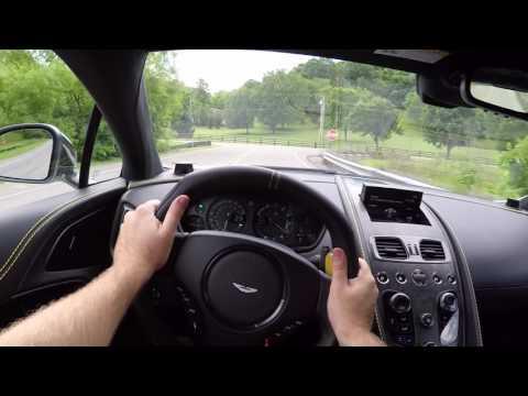 2018 Aston Martin Vanquish S POV Test Drive