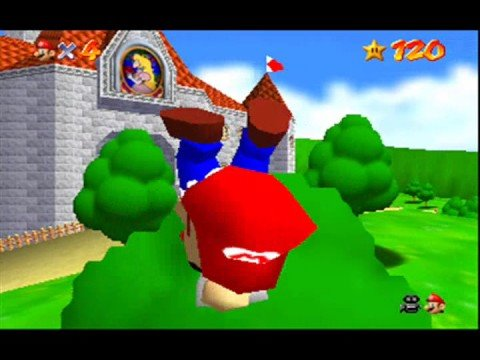 Super Mario 64: Mario Wears His Tighty Whities