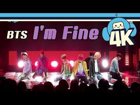 [4K & Focus Cam] BTS - I'm Fine @Show! Music Core 20180908