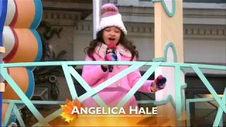 "Angelica Hale Singing ""Girl on Fire"" - 2017 Macy's Thanksgiving Day Parade"
