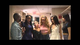 TWERKING with FIFTH HARMONY: The Full Interview!