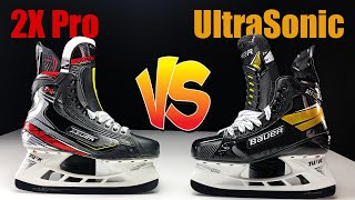 Bauer Supreme UltraSonic VS Vapor 2X Pro Hockey Skates - Same fit so what is the difference ?
