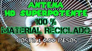download musica ANTENA SUPER POTENTE 100 % material reciclado COSTO $ 000 pesos