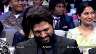 SIIMA 2016 Telugu - Ali Punch on Lakshmi Manchu Husband